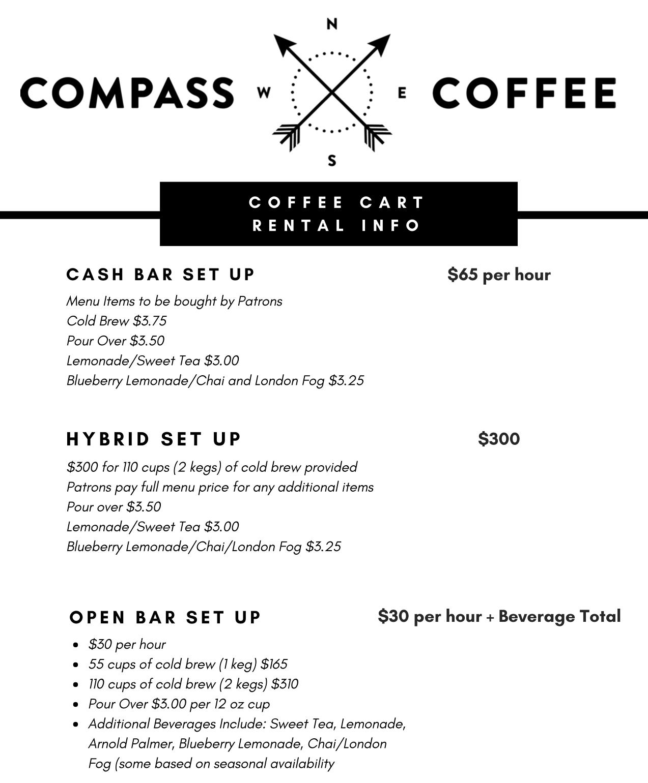 Compass Cart Info